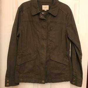 EUC Loft military style jacket